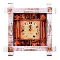 Стенен часовник в дървена рамка Канела