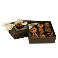 Кутийка с 9 бр. мини шоколадови чашки