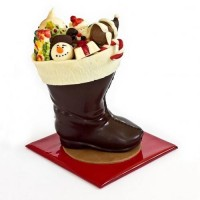 Шоколадов ботуш с шоколадови подаръци