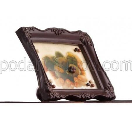 Шоколадова рамка с Ваша снимка