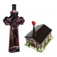 Църква от шоколад и Кръст с вино