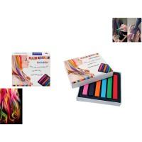 Цветни тебешири за коса