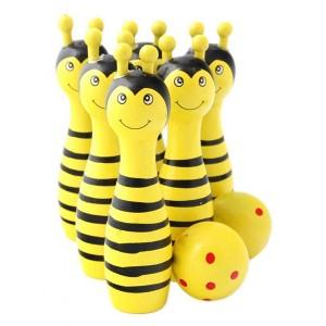 Детски дървен боулинг - различни модели
