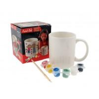 Комплект за оцветяване с чаша, боички и четка!