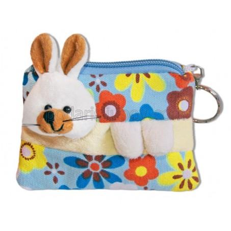 Детско портмоне - ключодържател с играчка - варианти