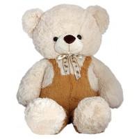 Огромен плюшен мечок с гащеризон, 120см