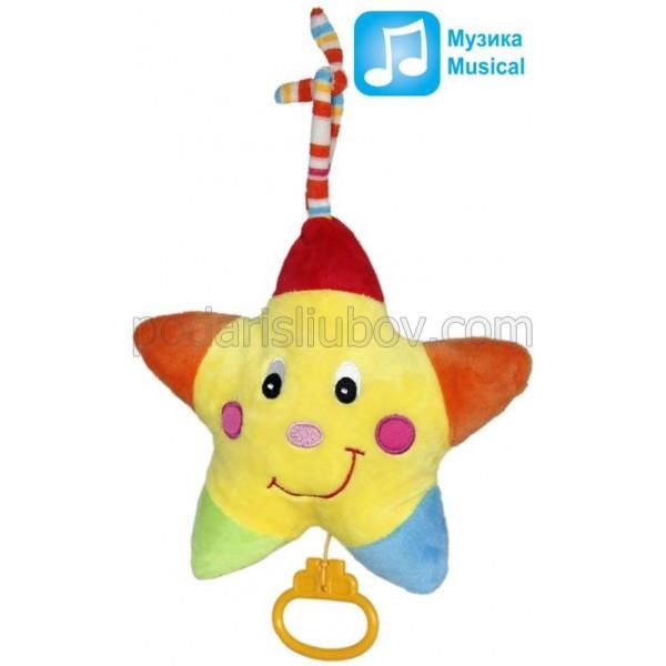 Плюшена играчка - латерна Звезда, 20см