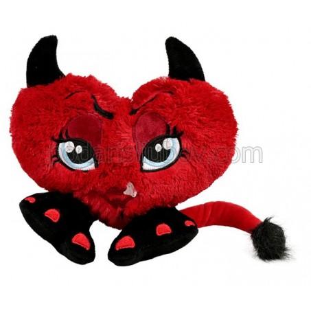 Плюшено сърце Дяволче