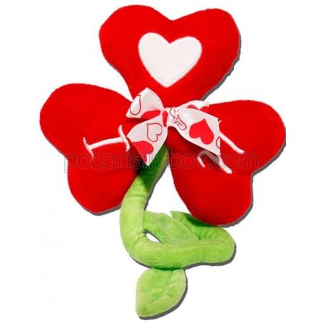 Плюшено Цвете от сърца, 30см