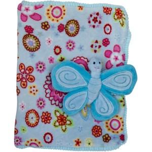 Тетрадка с калъф - Пеперуда, 4 цвята