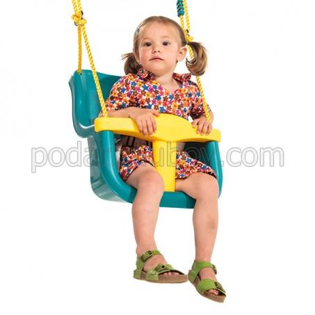 Детска люлка с обезопасена седалка, различни цветове