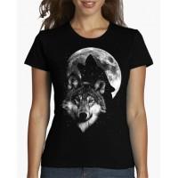 """Дамска тениска """"Вълча луна"""""""