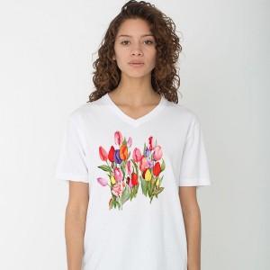 """Дамска тениска """"Лалета"""""""