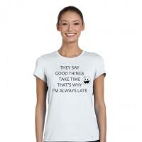 """Дамска тениска """"Good Things"""""""