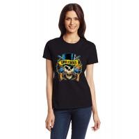 Дамска тениска Guns N' Roses череп