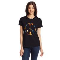 Дамска тениска знака на мира