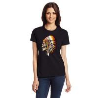 """Дамска тениска """"Indian Skull"""""""