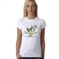 """Дамска тениска """"SOS - Legalize it"""""""