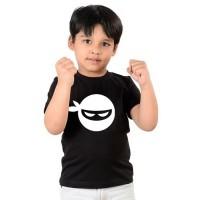 Детска тениска Нинджа, черен цвят