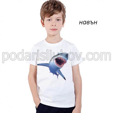 """Детска соларна тениска """"Акула"""""""