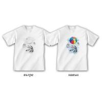 """Детска соларна тениска """"Делфини"""""""