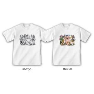 """Детска соларна тениска """"Животни"""""""