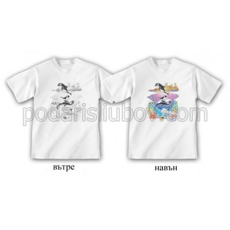 Детска соларна тениска Модерен отряд