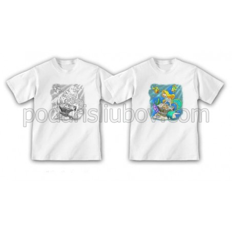"""Детска соларна тениска """"Русалка"""""""