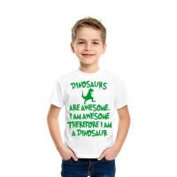"""Детска тениска """"Динозаври"""""""