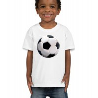 "Детска тениска ""3D футболна топка"""