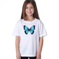 """Детска тениска """"3D пеперуда"""""""