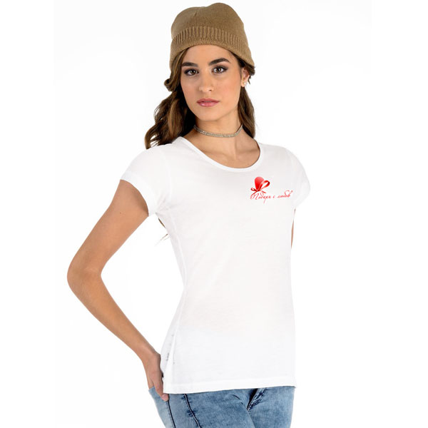 Тениска с фирмено лого