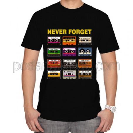 Тениска Never forget, мъжка