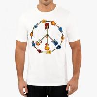 Мъжка тениска знака на мира