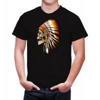 """Мъжка тениска """"Indian Skull"""""""