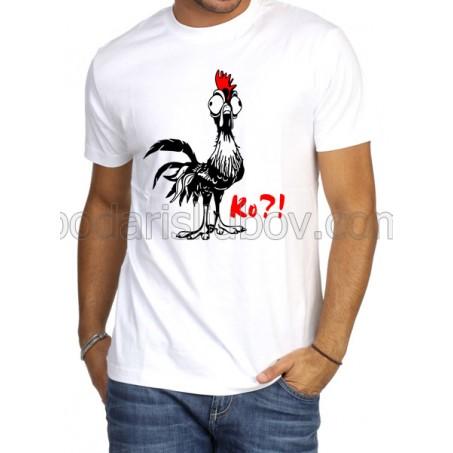 Забавна мъжка тениска Ко Ко?