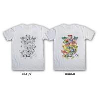 """Мъжка соларна тениска """"Жаби"""""""