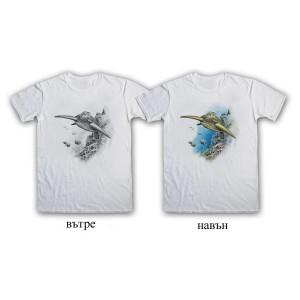 """Мъжка соларна тениска """"Костенурка"""""""
