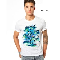 Мъжка соларна тениска Модерен отряд