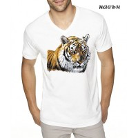 """Мъжка соларна тениска """"Тигър"""""""