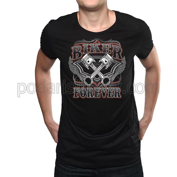 """Мъжка тениска """"Колоездач завинаги"""""""