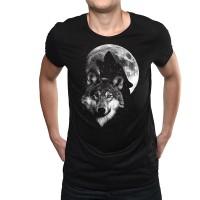 """Мъжка тениска """"Вълча луна"""""""