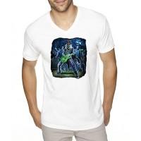 """Мъжка тениска """"Рокерско зомби"""""""