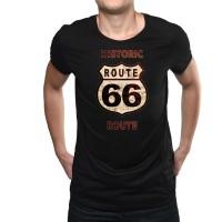 """Мъжка тениска """"Route 66"""""""