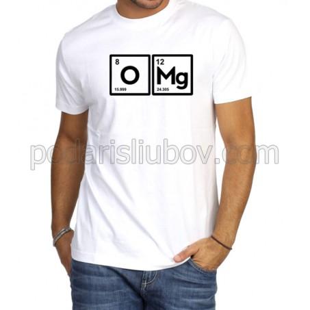 Мъжка тениска O Mg! в бял или черен цвят