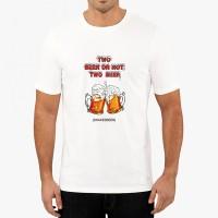 """Мъжка тениска """"Две бири"""""""