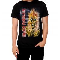 Мъжка тениска Iron Maiden First album, черна
