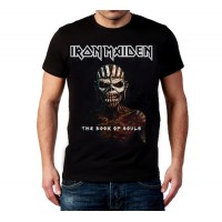 Мъжка тениска The book of souls, Iron Maiden