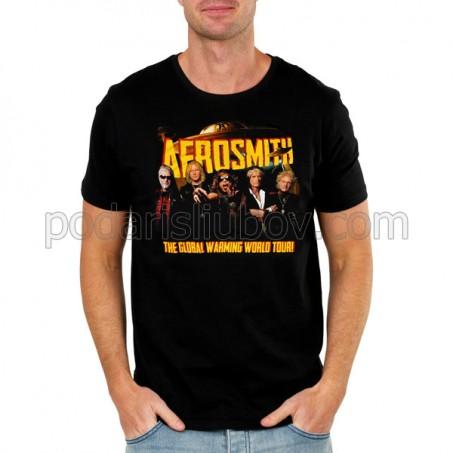 Мъжка тениска Aerosmith, Global world tour