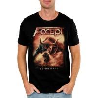 Тениска Accept Blind rage, черен цвят